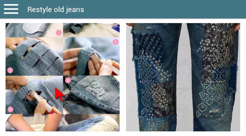 Скриншот DIY Jeans CRAFTS