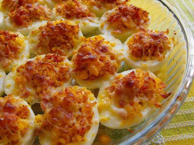 Deviled Egg Gratin Recipe