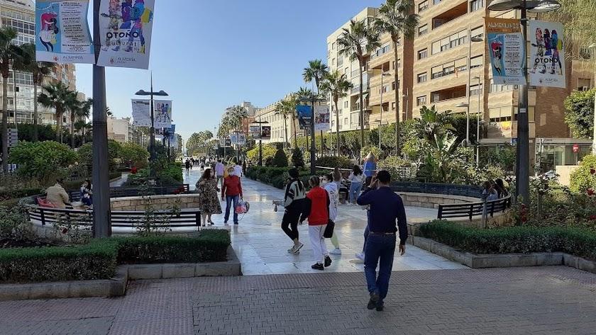 Imagen de la Avenida Federico García Lorca.