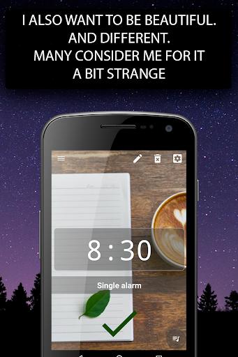 Alarm clock Malarm ⏰ Without stress. Without ads. screenshot 6