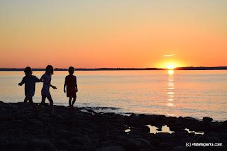 Photo: Making memories at Burton Island State Park by Jessica Clarke