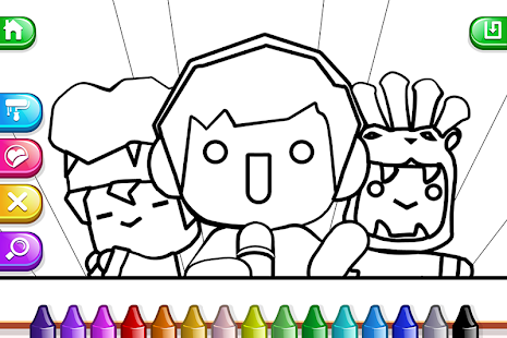 My Tapps Coloring Book - Painting Game For Kids- screenshot thumbnail