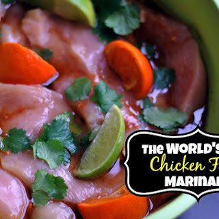 Grilled Chicken Fajita Marinade.
