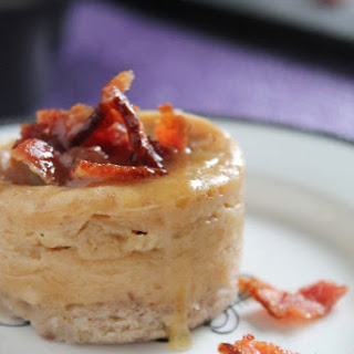 BOURBON, BACON, AND MAPLE MINI CHEESECAKES