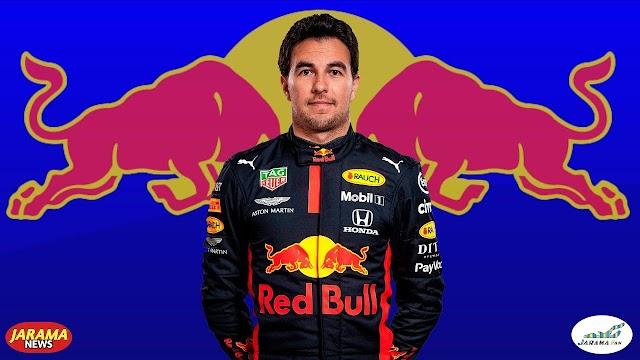 Sergio Perez con Red Bull en el 2021