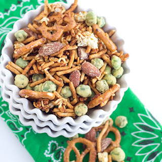 Wasabi and Soy Sauce Trail Mix.