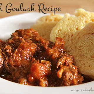 My Father'S Czech Goulash Recipe