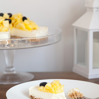 Extra Special No-bake Coconut Cheesecake