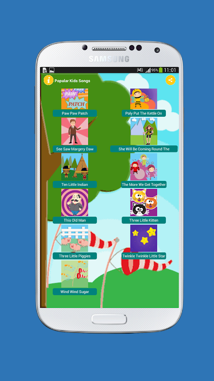 Popular Kids Songs Collection – (Android Applications) — AppAgg