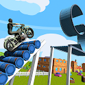 Extreme Bike Stunt Racing Game Breathtaking Tracks icon