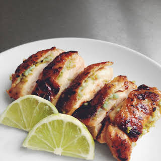 Garlic and Lime Crispy-fried Chicken.