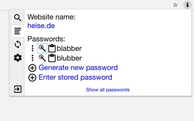 PfP: Pain-free Passwords
