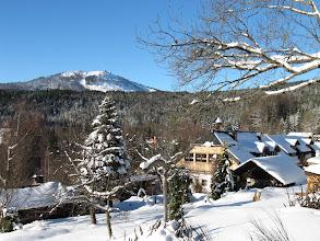Photo: Blick auf die Neuhütte und den Großen Arber