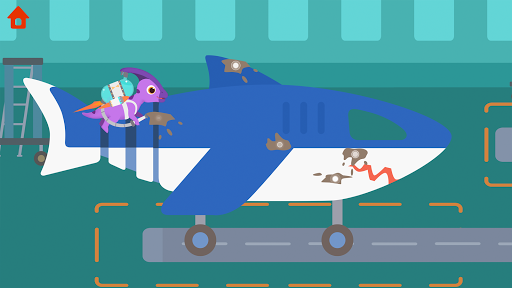 Dinosaur Airport - Flight simulator Games for kids 1.0.4 screenshots 4