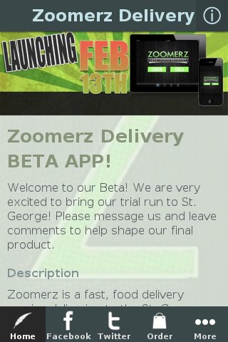 Zoomerz Delivery