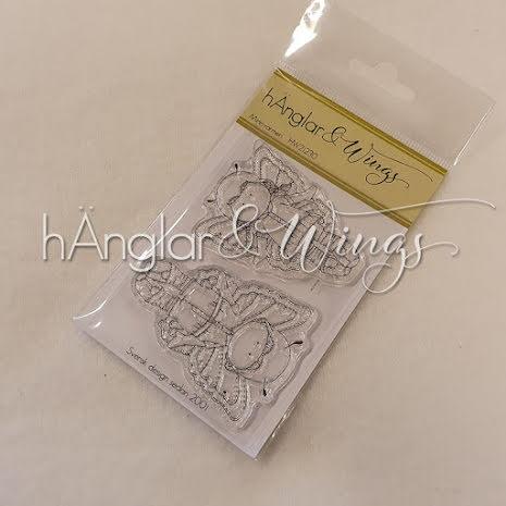 hÄnglar & Wings Clear Stamps - Minisvärmeri A7
