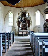 Photo: hübsche Dorfkirche bei Plüschow  10.000 Euro für Friedrichshagener Kirche  Stiftung des Hamburger Baustoffhändlers Benthack unterstützt mit 10.000 € die Sanierung der im Jahre 1860 von 1860 von dem Orgelbauer Friedrich Wilhelm Winzer aus Wismar (1811 in Mellenbach; † 1886) erbauten Orgel.