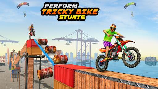 Trial Bike Racing Stunts : New Stunt Bike Games 3.9 screenshots 2