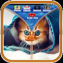 Kitten Zip Lock Screens icon