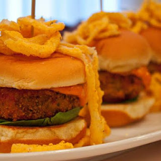 Crawfish Cake Sliders