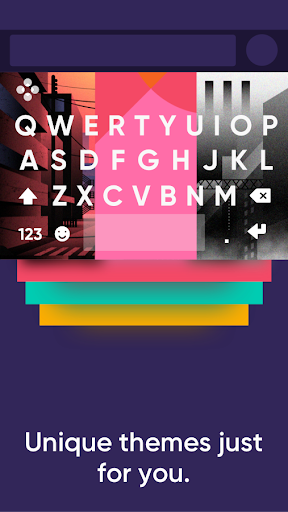 Fleksy: Fast Keyboard + Stickers, GIFs & Emojis 9.7.8 gameplay | AndroidFC 2
