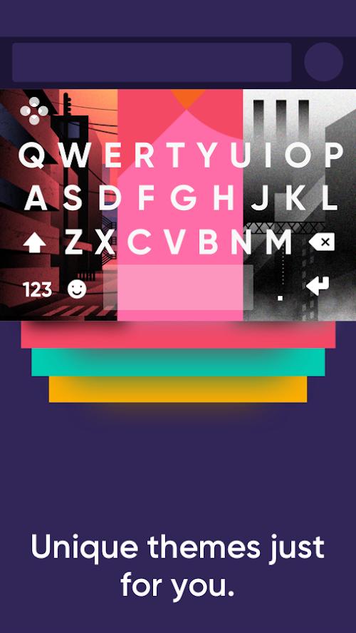 Screenshot 2 Fleksy - Emoji & GIF keyboard app 9.7.5 APK PAID