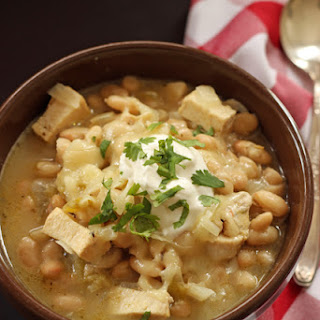 Chicken Chili with White Beans.