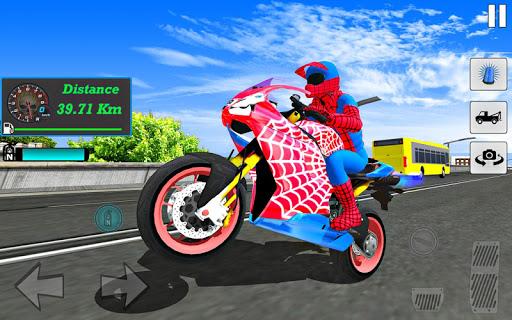 Bike Super Hero Stunt Driver Racing 1.0 screenshots 19