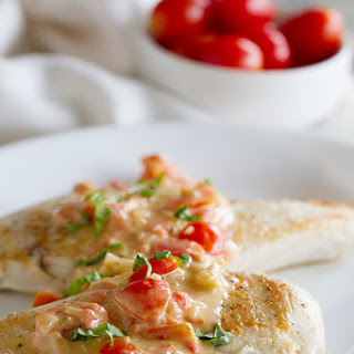 Chicken with Tomato Parmesan Sauce