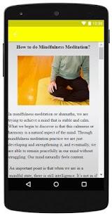Mindfulness Meditation - náhled