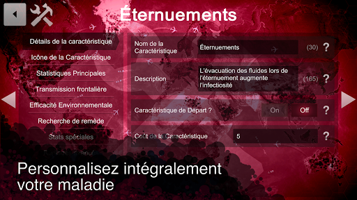 Code Triche Plague Inc: Cru00e9ateur APK MOD screenshots 4