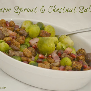 Warm Sprout & Chestnut Salad