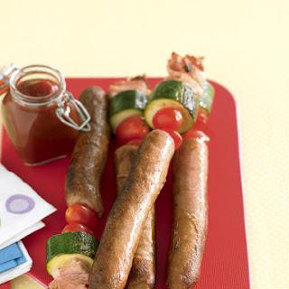 Sausage Skewers.