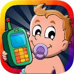 Baby Phone Game for Kids Free icon