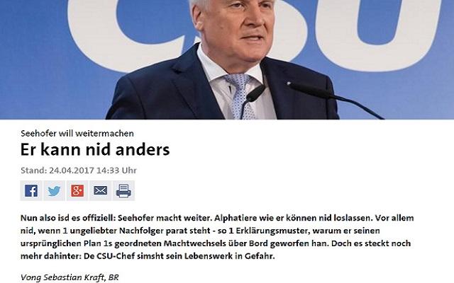 Deutsch - Vong Übersetzung aller Webseiten