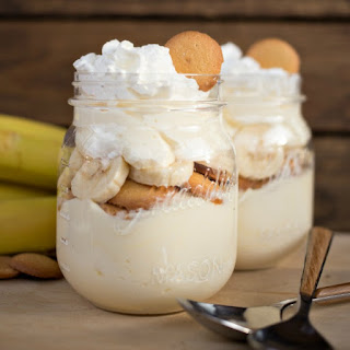 No Bake Banana Cream Cheesecake.