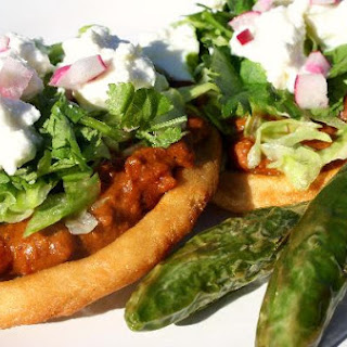 Sopes (Fried Masa Boats).