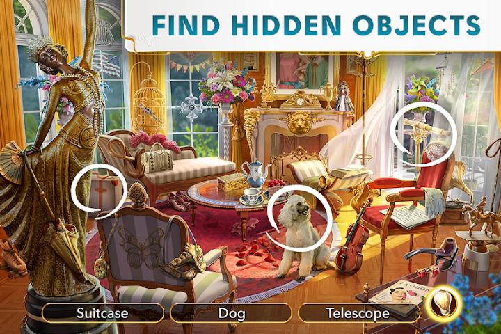 June's Journey - Hidden Object Android App Screenshot