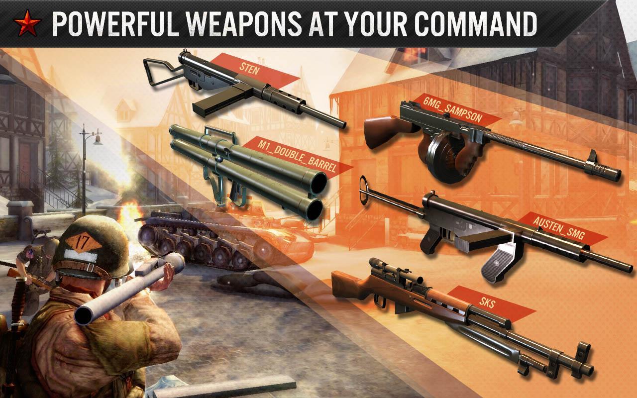 FRONTLINE COMMANDO: WW2 screenshot #2