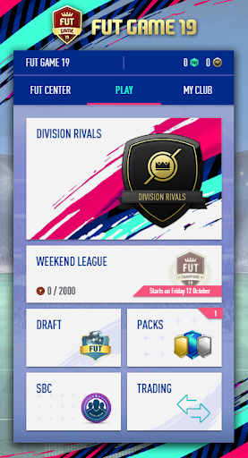 FUT Game 19 - Draft and Pack Opener 1.4.4 screenshots 1
