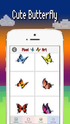 Butterfly color by number : Bugs coloring book apktram screenshots 2