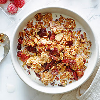 Sesame, Almond, and Cherry Granola