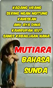 Kata Mutiara Bahasa Sunda Hileli Apk Indir 161