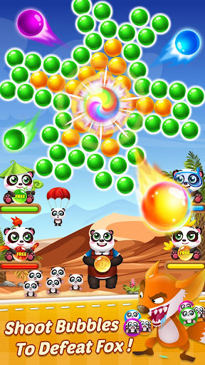 Télécharger Bubble Shooter 3 Panda APK MOD (Astuce) screenshots 3