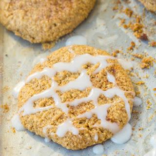 Healthy Flourless Sticky Cinnamon Bun Cookies.