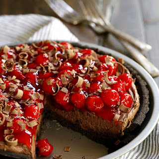Black Forest No Bake Cheesecake.