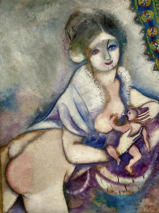 Марк Шагал. Материнство.