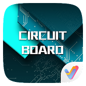 Circuit Board 3D  V Launcher Theme