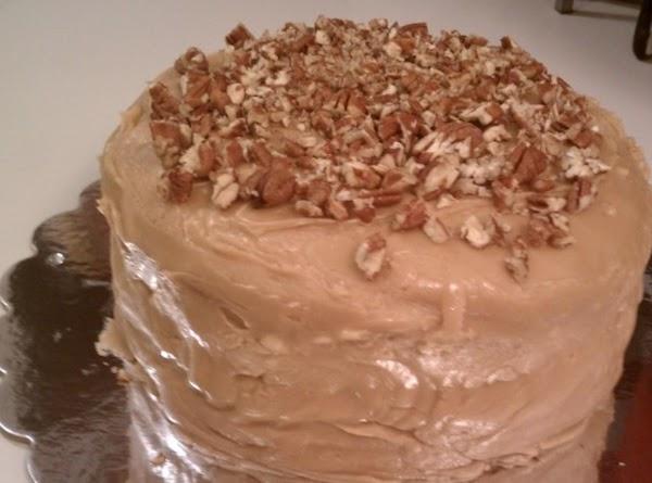 Banana Cake With Caramel Icing Recipe