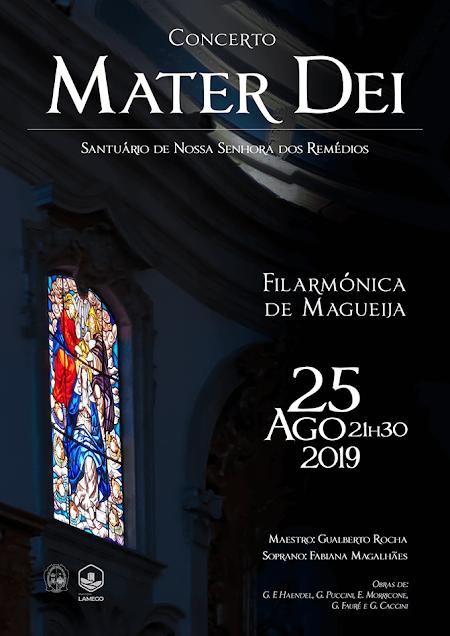 """Concerto """"Mater Dei"""" na Romaria de Portugal"""